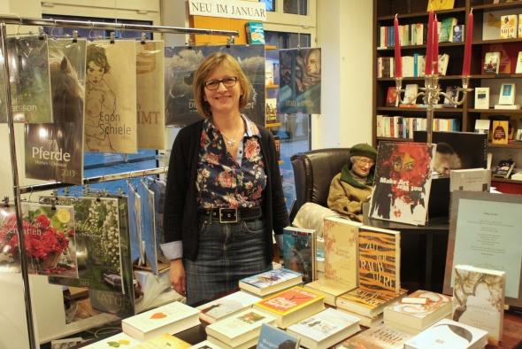 Buchhändlerin Ulrike Herberg hat einen Lese-Club für Kinder ins Leben gerufen, der viel Anklang findet.