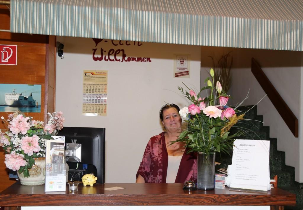 Sabine Buck ist die Managerin des freundlichen Hotels