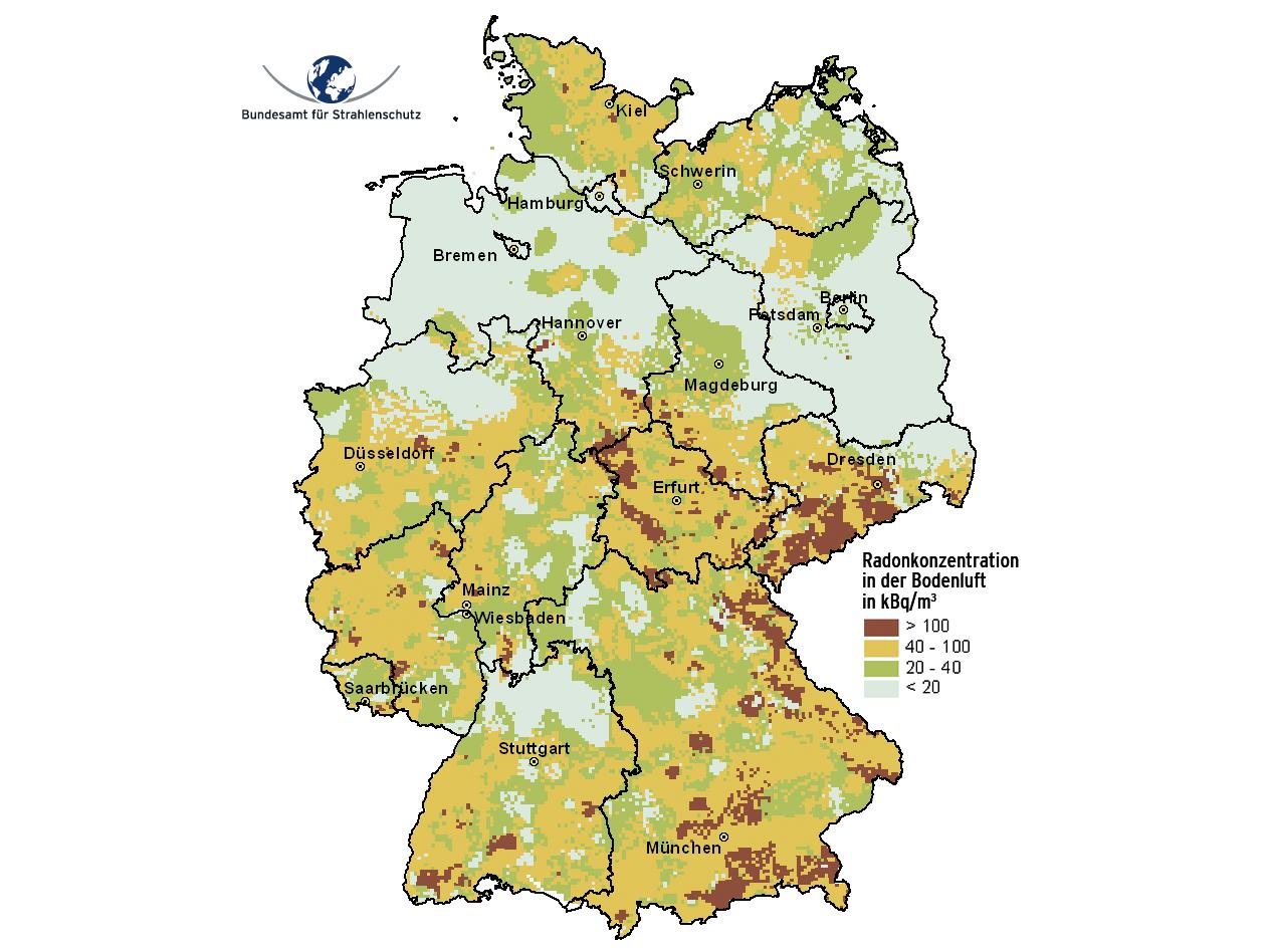 radonbelastung karte radon karte   Bargteheide Aktuell.de   Neuigkeiten und Artikel für  radonbelastung karte